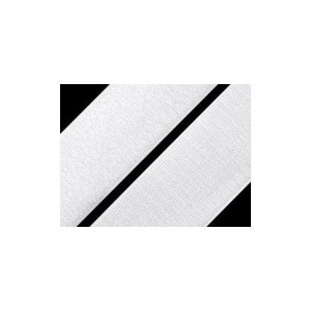 Tépőzár szalag 2 cm széles, fehér színű