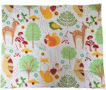 Rózsaszín panda macis lapos ovis kispárna