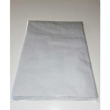 Hagyományos pamutvászon lepedő 180x220 cm méretben -  világosszürke