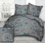Extra hosszú ágynemű 140x220 100% pamut - elegáns barna barokk