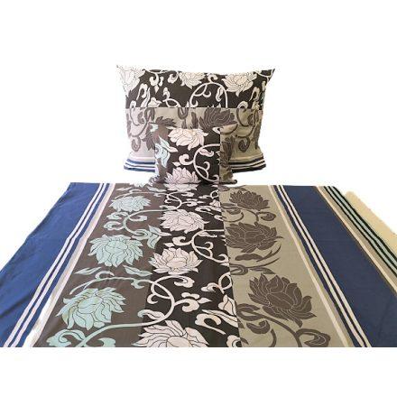 Szürke fotball mintás ágynemű huzat szett 140x200 cm