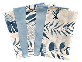 Bézs színű vékony műszálas textil