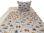 Állatos mintás gyermek ágynemű huzat szett 90x130 cm 100% pamut