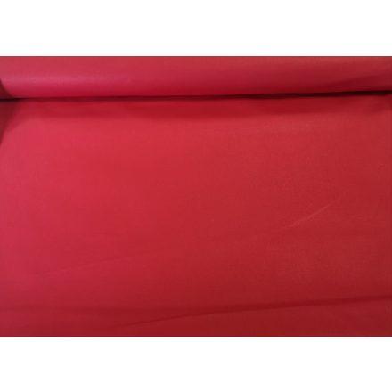 Piros színű pamutvászon textil - 160 cm