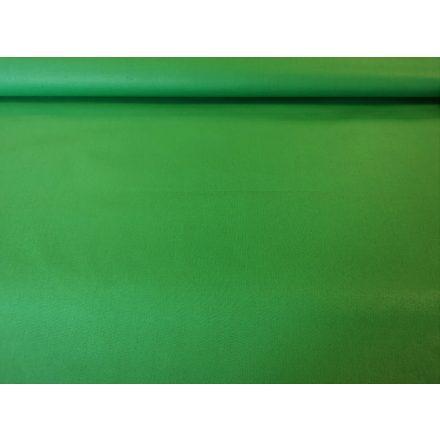 Zöld színű pamutvászon - lepedővászon - 160 cm