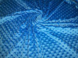 Fekete buklé textil - méteráru 140 cm széles