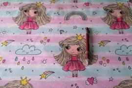 Futter pamut textil 180 cm széles - fekete színű.