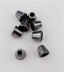 Fém zsinórvég grafit színű ¤ 3 mm -es zsinórhoz