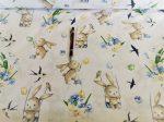 Pamut textil 160 cm virág mintás