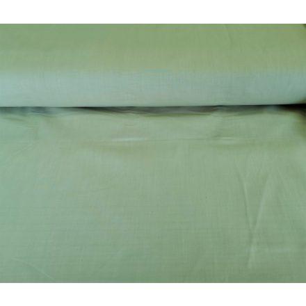 Egyszínű  pamutvászon - lepedővászon 220 cm széles  - zöld