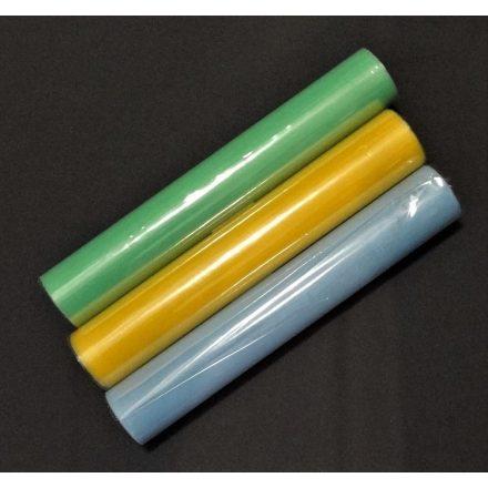 Dekor tüll többféle színben, szélessége 30 cm.