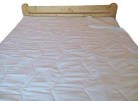 Matracvédő fehér 150x200 cm