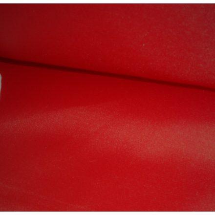 Piros színű bélésselyem textil 150 cm széles