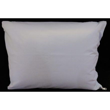 Fehér kispárna huzat, 100% pamut anyagból - 40 cm x 50 cm..