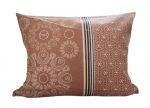 Gyermek mintás kispárna huzat - vonat mintás, 40 cm x 50 cm, cipzár záródással.