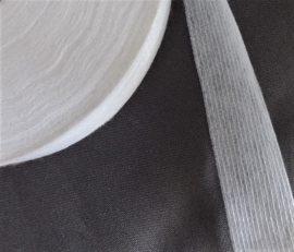 Szürke mintás vékony polyester textil
