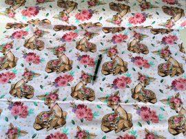 Bézs színű polár textil 190 cm széles