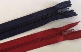 RT0, 16 cm hosszú, zárt, műanyag, spirál fogú cipzár - hózózár többféle színben