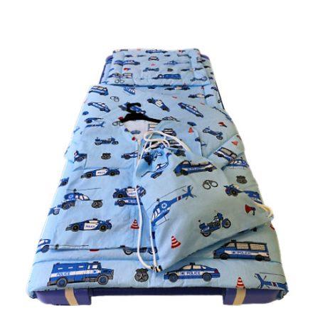 Piros alapon rózsa mintás muszlin jellegű textil -  140 cm