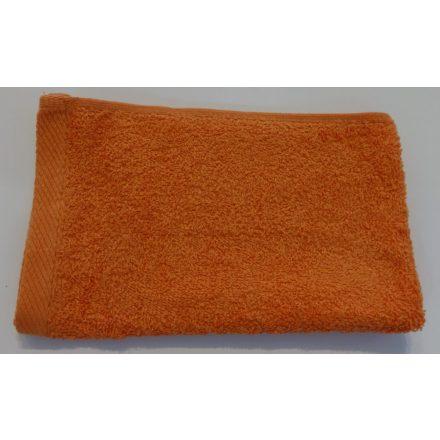 Törölköző 50 cm x 100 cm, narancssárga.