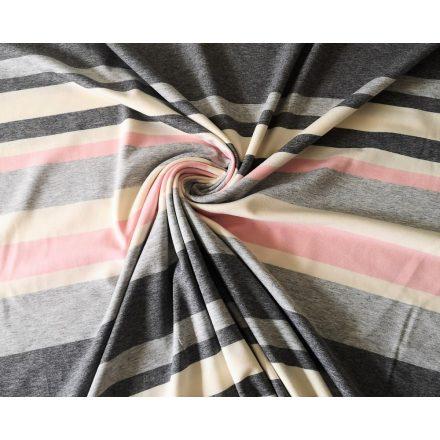 Bordó kockás pamut jersey textil - 160 cm