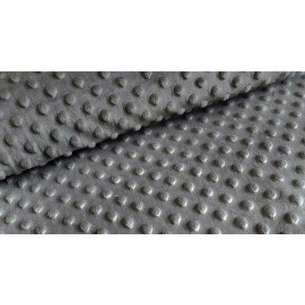 Minky textil - méteráru 165 cm széles - sötétszürke 350 gr/m2