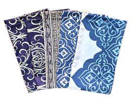 Tört fehér színű műszálas jersey