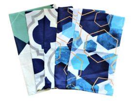 Gumiszalag - gumipertli 20 mm széles sötétkék színben