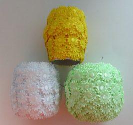 Virág szalag többféle színben - 13 mm széles.