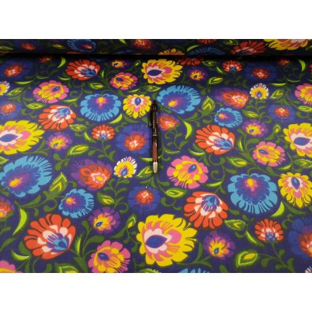 Pamut ferdepánt 20 mm - fekete