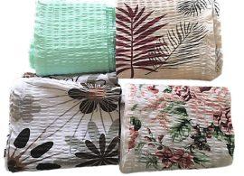 Kék - szürke pamutvászon kreatív csomag - 7