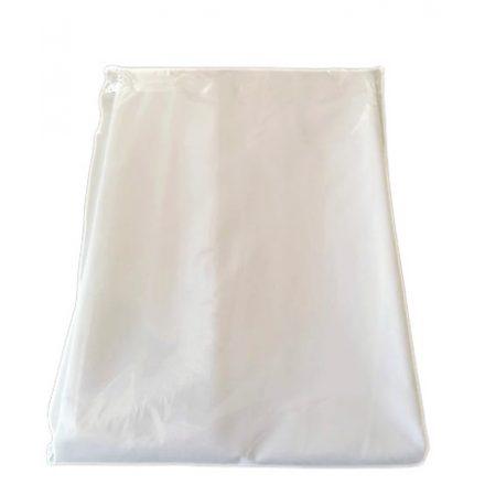 Világos mályva színű kevert szálas textil - 135 cm