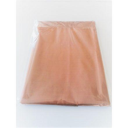 Hagyományos pamutvászon lepedő 150x220 cm - barna