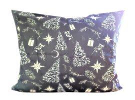Bordó selyem szatén textil - 150 cm