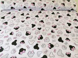 Bézs színű rugalmas szövet 150 cm
