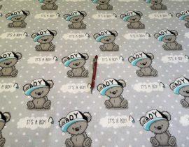 Örvény mintás hurkolt textil 210x140 cm