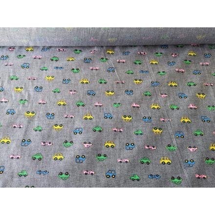 Krómsárga színű vékony muszlin-szerű textilia