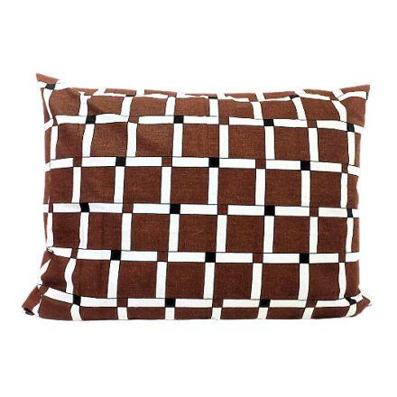 Rugalmas vászon sötétbarna - 135 cm