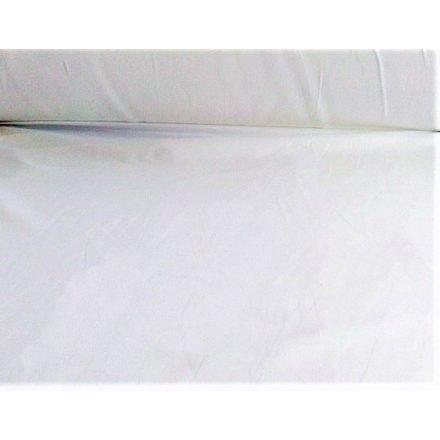 Fehér microfiber textil - méteráru 167 cm széles