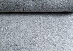 Vajszínű alapon zöld - szürke csíkos jersey textil lurex szállal - 160 cm