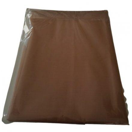 Hagyományos pamutvászon lepedő 100% pamutból 220x240 cm - csoki barna