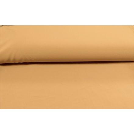 Mustár színű, elasztikus műszálas textil - 145 cm