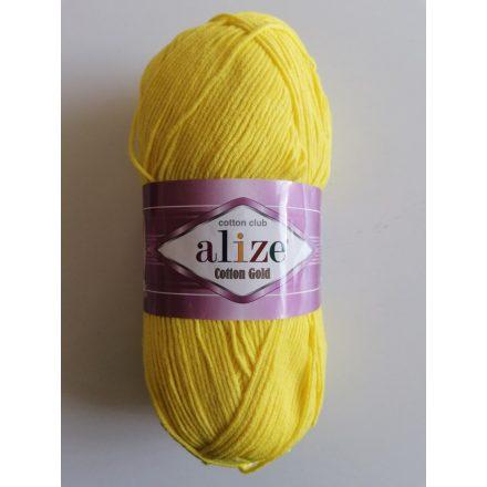 Alize Cotton Gold fonal - Sárga