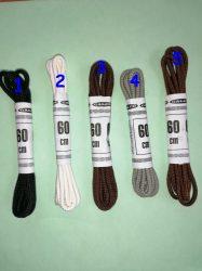 2 mm -es átmérőjű gömbölyű cipőfűző 60 cm hosszú