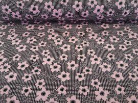 Vajszínű alapon sárga - szürke csíkos jersey textil lurex szálas beszövéssel - 150 cm