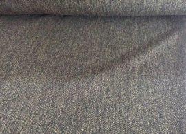 150 cm széles sötétzöldes - szürkés műszálas textil