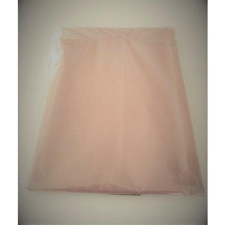 Barna színű pamutvászon lepedő 200x220 cm