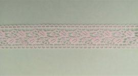Műszálas csipke szalag -  35 mm széles