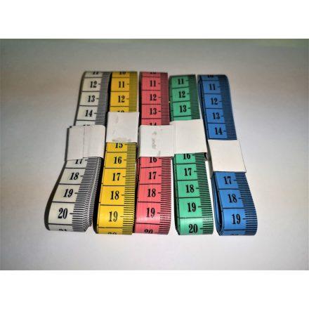 Szabó centi - mérőszalag 150 cm - többféle színben