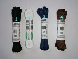 Lapos cipőfűzők - 5 mm -es 90 cm